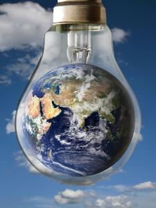 Global Warming, Conceptual Image by Victor De Schwanberg