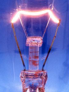 Light Bulb Filament by Victor De Schwanberg