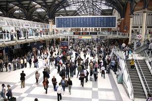 Liverpool Street Railway Station by Victor De Schwanberg