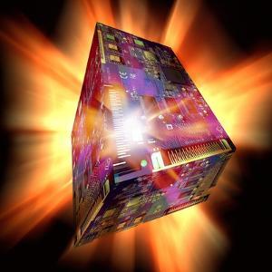 Quantum Computing, Conceptual Image by Victor De Schwanberg