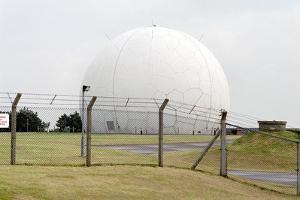Radar Tracking Station by Victor De Schwanberg