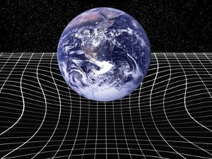 Warped Space-time Due To Gravity by Victor De Schwanberg