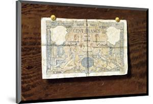 100 Franc Note by Victor Dubreuil