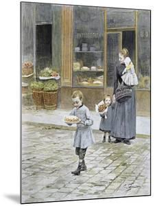 Father's Day, 1891 by Victor Gabriel Gilbert