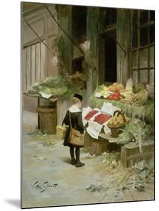 Little Boy at the Market by Victor Gabriel Gilbert