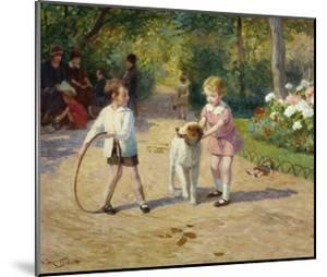 Playing with a Hoop by Victor Gabriel Gilbert