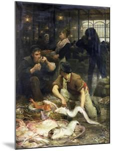 The Fish Market in the Morning, 1880 by Victor Gabriel Gilbert