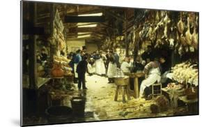 The Marketplace, 1885 by Victor Gabriel Gilbert