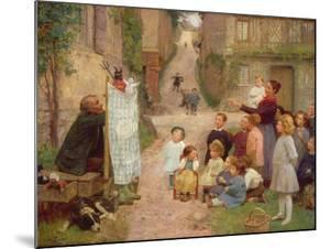The Puppet Show by Victor Gabriel Gilbert