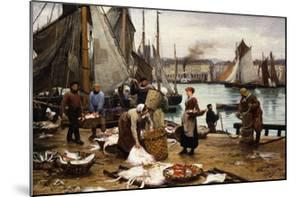 Unloading the Catch, 1881 by Victor Gabriel Gilbert