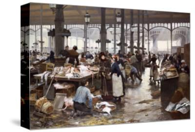 The Fish Hall at the Central Market, 1881