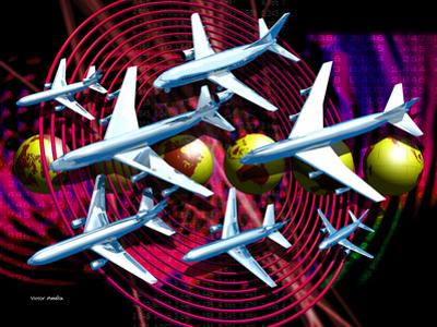 Air Travel by Victor Habbick