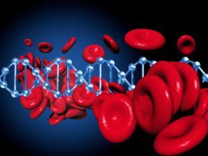 DNA And Red Blood Cells by Victor Habbick