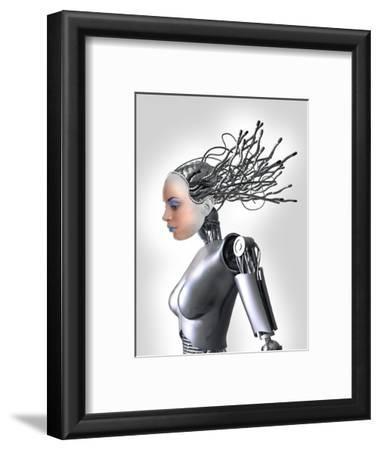 Female Cyborg, Artwork