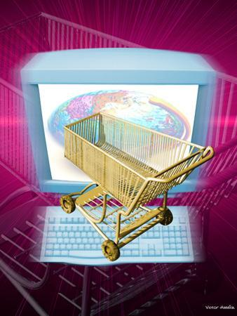 Internet Shopping by Victor Habbick
