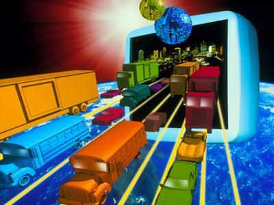 Internet Traffic by Victor Habbick