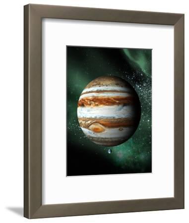 Jupiter And Earth, Artwork