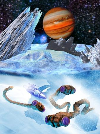 Life on Europa by Victor Habbick