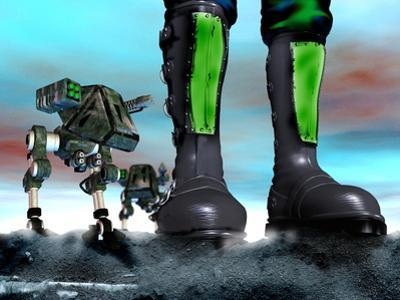 Military Robots by Victor Habbick