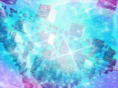Quantum Computing, Conceptual Artwork by Victor Habbick