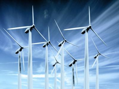 Wind Turbines by Victor Habbick