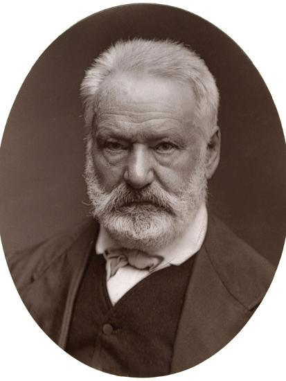 Victor Hugo, French Poet, Dramatist and Novelist, 1877-Lock & Whitfield-Photographic Print