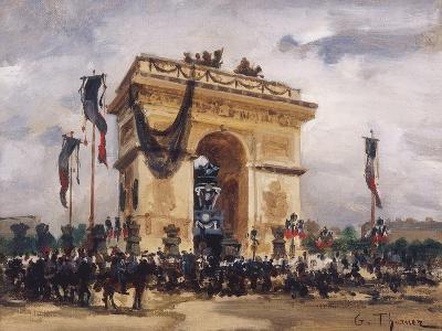 Victor Hugo's Funeral-Gabriel Thurner-Giclee Print