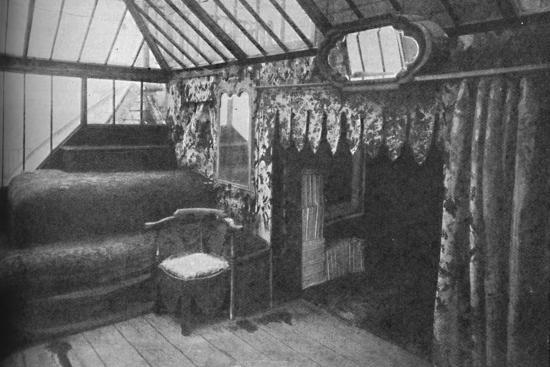 'Victor Hugo's study at Hauteville House - The Room in Which Les Miserables Was Written', c1925-Unknown-Photographic Print