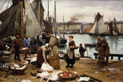 Unloading the Catch, 1881