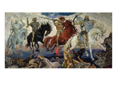 The Four Horsemen of the Apocalypse, 1887