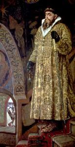 "Tsar Ivan IV Vasilyevich ""The Terrible"" (1530-84) 1897 by Victor Mikhailovich Vasnetsov"