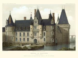 French Chateaux II by Victor Petit