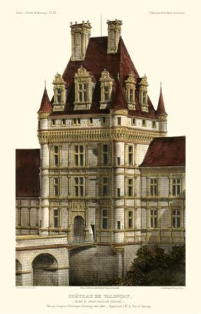French Chateaux in Brick IV by Victor Petit