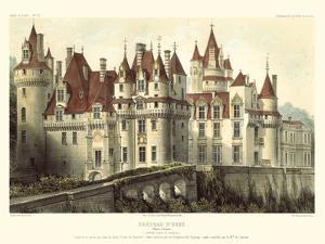 French Chateaux VII by Victor Petit