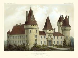 Petite French Chateaux I by Victor Petit