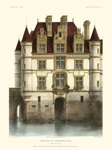 Petite French Chateaux IX by Victor Petit