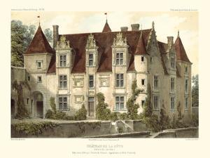 Petite French Chateaux VI by Victor Petit
