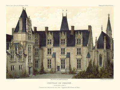 Petite French Chateaux VIII by Victor Petit