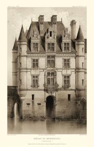 Sepia Chateaux V by Victor Petit