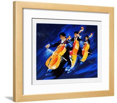 m - Trois violoncelles