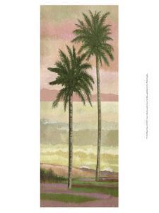 Blush Palms I by Victor Valla