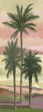 Blush Palms II by Victor Valla