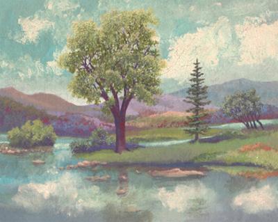 River Scape II by Victor Valla