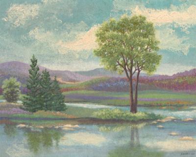 Riverscape I by Victor Valla