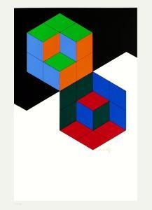 Bi-Hexa by Victor Vasarely