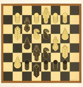 Chess by Victor Vasarely