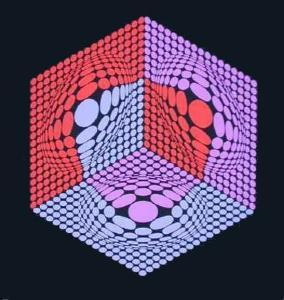 Composition 14 by Victor Vasarely