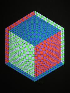 Dagg by Victor Vasarely