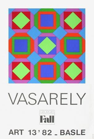 Expo 82 - Art Basel 82 by Victor Vasarely