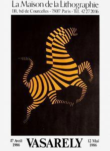 Expo Maison de la Lithographie by Victor Vasarely